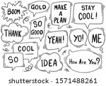 hand drawn background set of...   Shutterstock .eps vector #1571488261