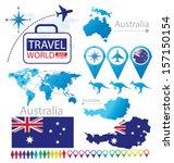 commonwealth of australia.... | Shutterstock .eps vector #157150154