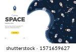 space exploration creative... | Shutterstock .eps vector #1571659627