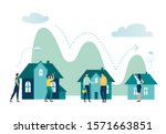 vector illustration  real... | Shutterstock .eps vector #1571663851