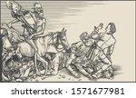 horseman of the apocalypse....   Shutterstock .eps vector #1571677981