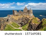 dunluce castle  northern... | Shutterstock . vector #157169381