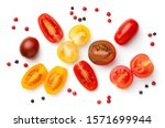 Fresh Colorful Cherry Tomatoes...