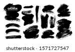vector brush strokes collection ... | Shutterstock .eps vector #1571727547
