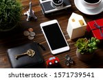 smartphone and many...   Shutterstock . vector #1571739541