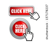 click here vector buttons | Shutterstock .eps vector #157178237