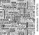 design. seamless grunge vector... | Shutterstock .eps vector #157178711