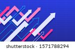 abstract financial chart with... | Shutterstock .eps vector #1571788294