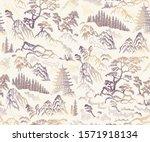 vector seamless pattern of hand ... | Shutterstock .eps vector #1571918134
