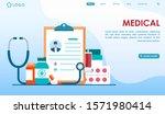 medical landing page website...