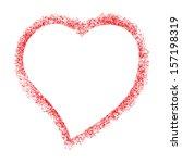 Vector Frame Heart  For Text...