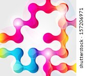 abstract chain background for... | Shutterstock . vector #157206971
