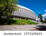 cluj napoca  romania   july 12  ... | Shutterstock . vector #1572105631