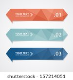 vector colorful text box ... | Shutterstock .eps vector #157214051