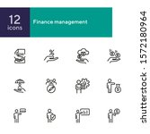 finance management line icon...   Shutterstock .eps vector #1572180964