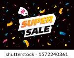 sale banner layout design ... | Shutterstock .eps vector #1572240361