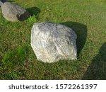 Close up of of a rock at Beaufort Lake, Michigamme, Michigan