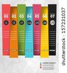 modern business options banner. ... | Shutterstock .eps vector #157231037