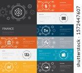 finance infographic 10 line...
