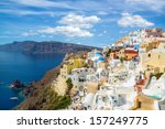 gorgeous view of the oia... | Shutterstock . vector #157249775