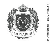 coat of arms. heraldic royal...   Shutterstock .eps vector #1572498154