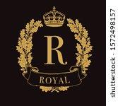 royal coat of arms   heraldic...   Shutterstock .eps vector #1572498157
