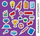 digital marketing stickers....