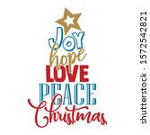 Joy Hope Love Peace Christmas ...