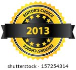 editors choice product of year... | Shutterstock .eps vector #157254314