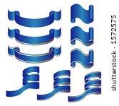ornamental ribbons | Shutterstock .eps vector #1572575