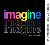 imagine typography with flashy...   Shutterstock .eps vector #1572673801