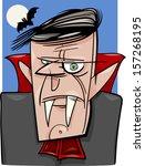 cartoon illustration of creepy...   Shutterstock . vector #157268195