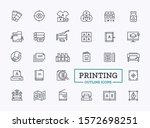 symbols for typography. vector... | Shutterstock .eps vector #1572698251