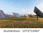 Solar Park In Germany With...
