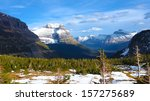 going to the sun road in... | Shutterstock . vector #157275689