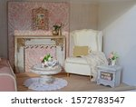 Dollhouse  Living Room With...