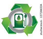 save the earth or recycle... | Shutterstock . vector #157288334
