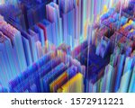 3d Render Of Abstract 3d...