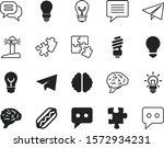 idea vector icon set such as ...
