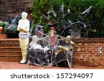 Halloween Decoration In Front...