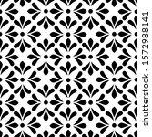 flower geometric pattern.... | Shutterstock .eps vector #1572988141