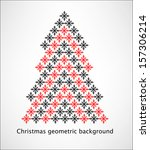 decorative geometrical... | Shutterstock .eps vector #157306214
