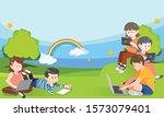vector illustration of banner... | Shutterstock .eps vector #1573079401