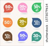 retro vintage labels and... | Shutterstock . vector #1573079614
