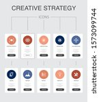 creative strategy infographic...
