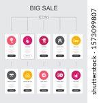 big sale infographic 10 steps...