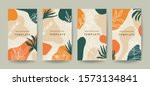 creative hard paint cover... | Shutterstock .eps vector #1573134841