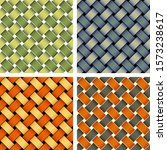 set of seamless pattern of... | Shutterstock .eps vector #1573238617