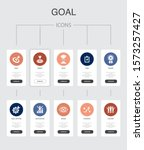 goal nfographic 10 steps ui...