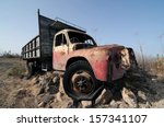 Rusty Abandoned Truck On The...